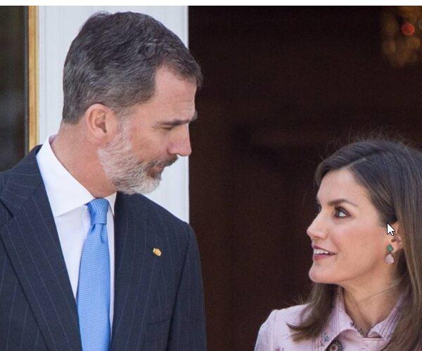 Felipe VI (1,98m) Y Letizia Ortiz (1,70m)