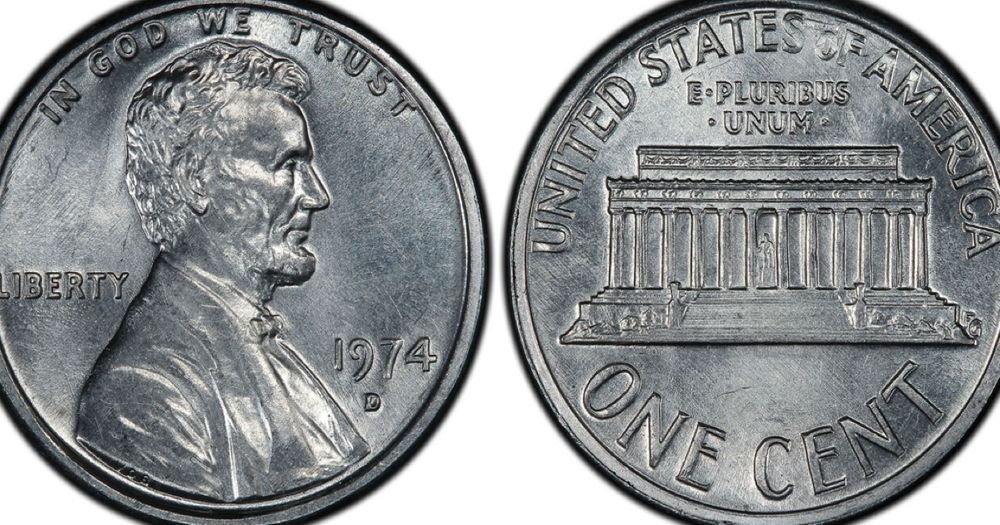 The Aluminum Penny From 1974