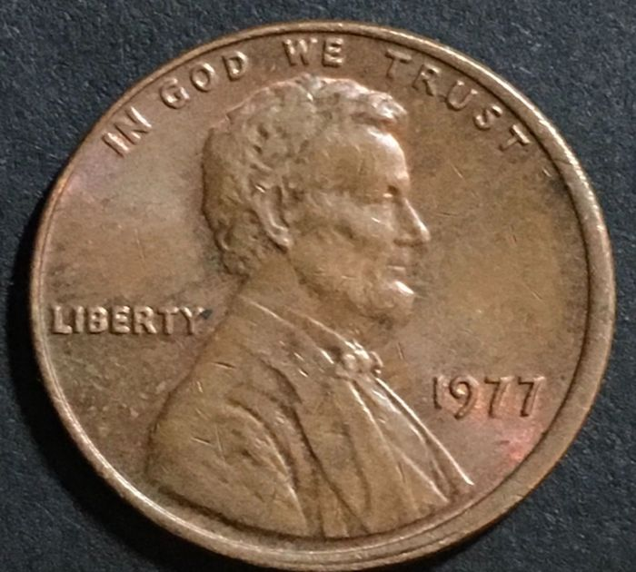 "The ""Double Ear"" Penny From 1977"