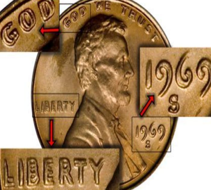 The Double Die Penny From 1969