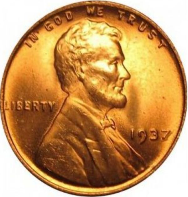 "The Wheat ""No Mark"" Error Penny From 1937"