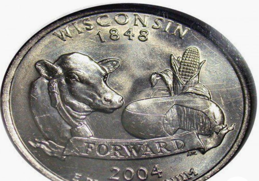 "The ""Extra Low Leaf"" Wisconsin Quarter From 2004"