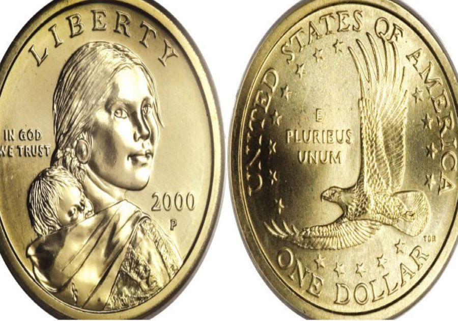 "The Sacagawea ""Cheerios"" Dollar From 2000"