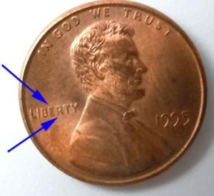 "The ""Double Die Liberty"" Penny From 1995"