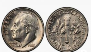 "The ""No Mark"" Dime From 1982"