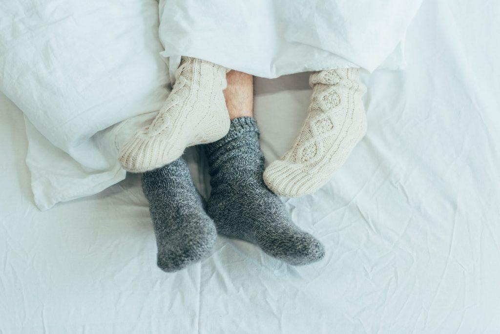Sleep With Socks On