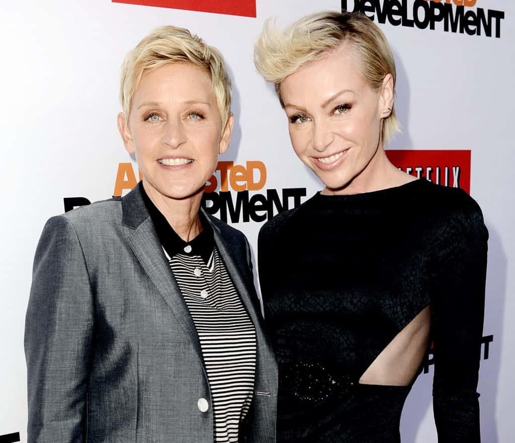 Ellen DeGeneres ve Portia De Rossi