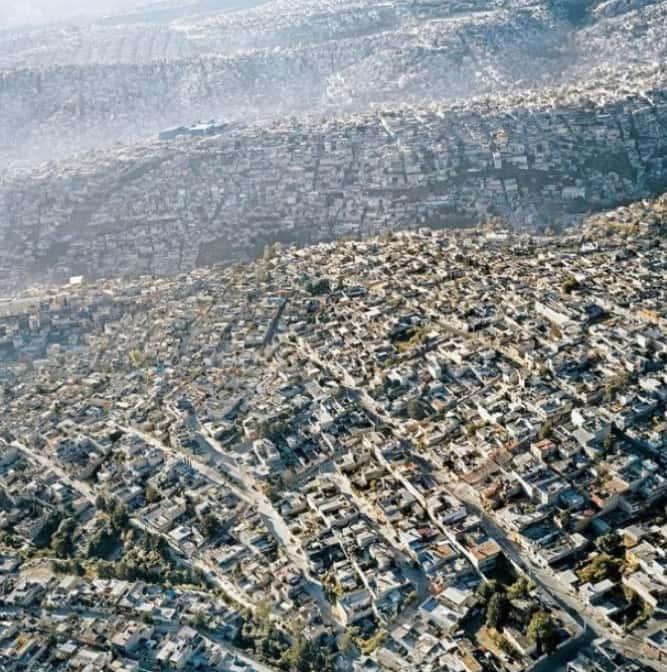 Dense Mexico City