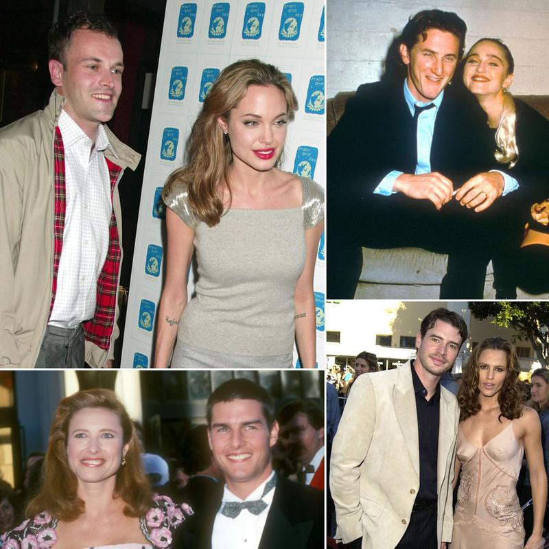 Did You Know That These Celebrities Were Once Married