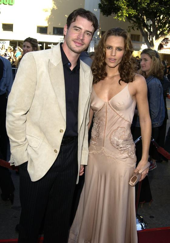 Scott Foley And Jennifer Garner