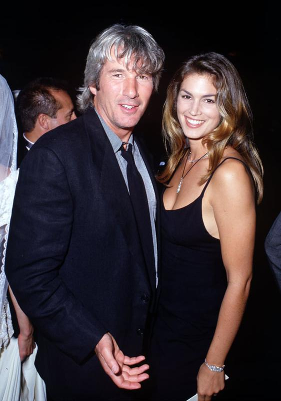 Cindy Crawford And Richard Gere