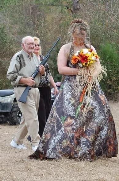 Schusssichere Braut