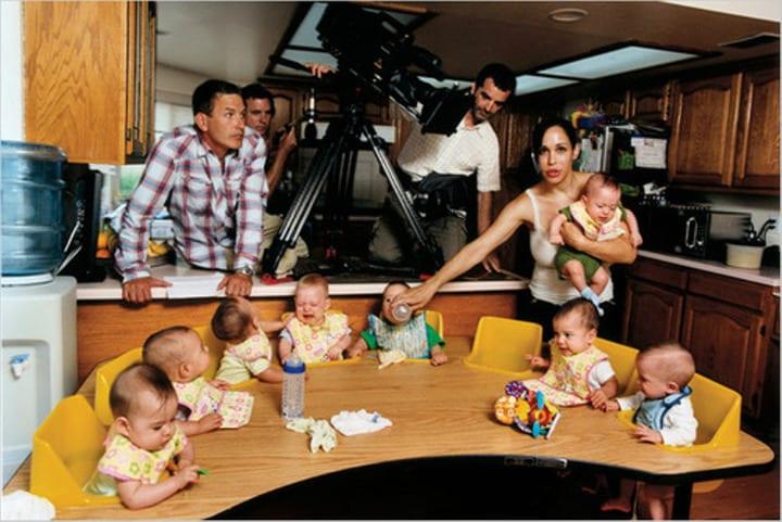 Nadya y sus bebés