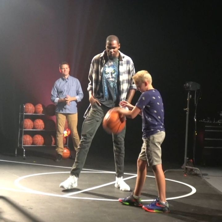 Meeting Kevin Durant