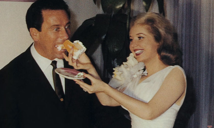 Betty Brosmer And Joe Weider