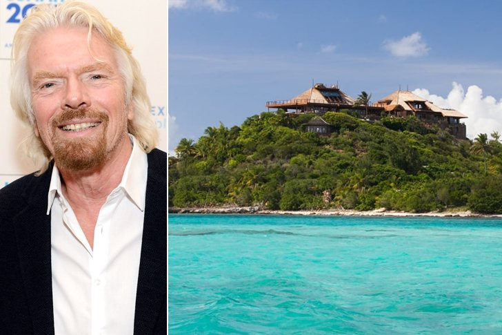 Richard Branson – Necker Island, $180K