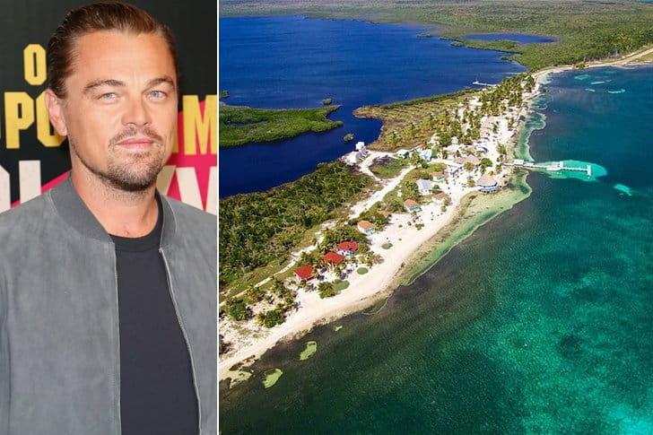 Leonardo DiCaprio – Blackadore Caye, $1.75 Million