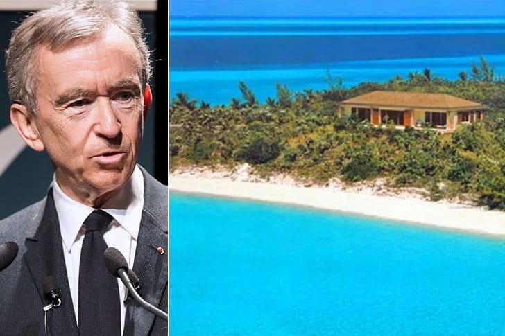 Bernard Arnault – Indigo Island, $35 Million