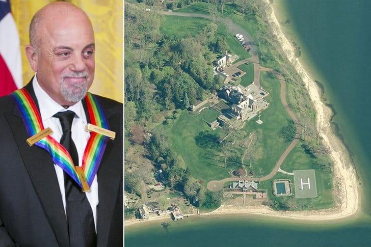 Billy Joel – Long Island, $32.5 Million