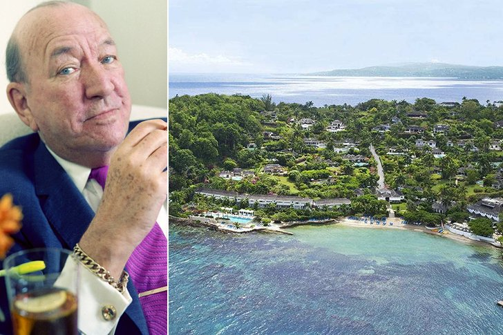 Noel Coward – Round Hill, Montego Bay, Jamaica, Amount Undisclosed