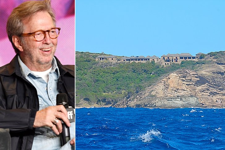 Eric Clapton – Standfast Point, Island Of Antigua, $4 Million (Just For The House)