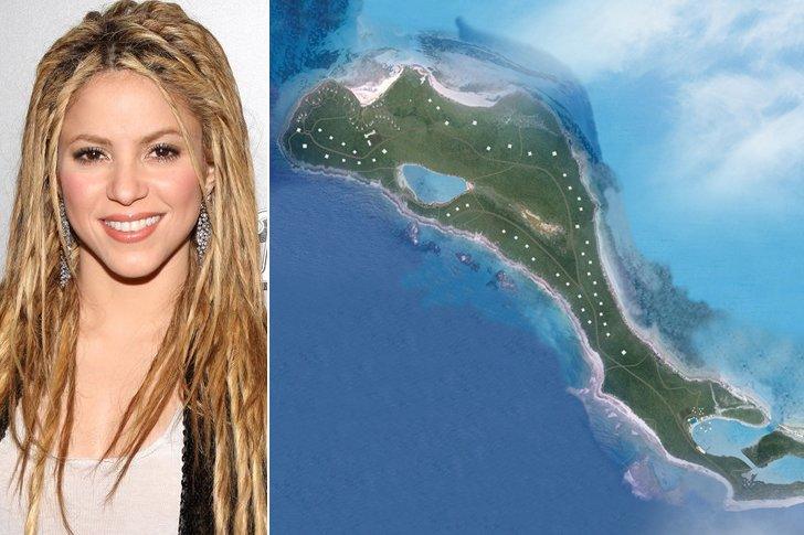 Shakira – Bonds Cay, $16 Million