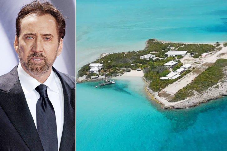 Nicolas Cage – Leaf Cay, $7 Million