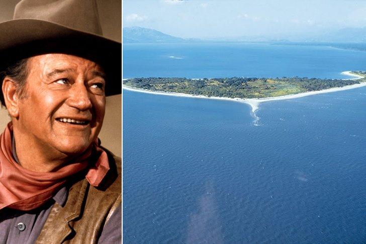 John Wayne – Taborcillo Island, Amount Undisclosed