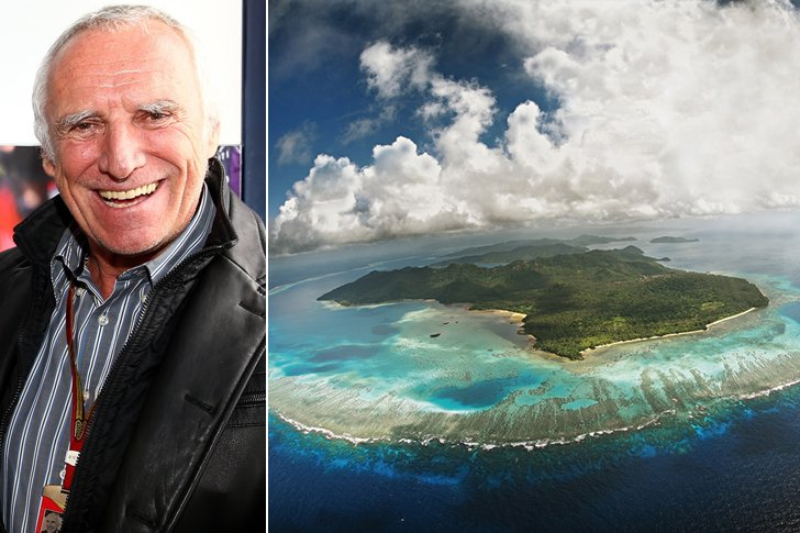 Dietrich Mateschitz – Fiji, $10 Million