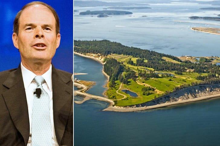 Craig McCaw – James Island, $75 Million