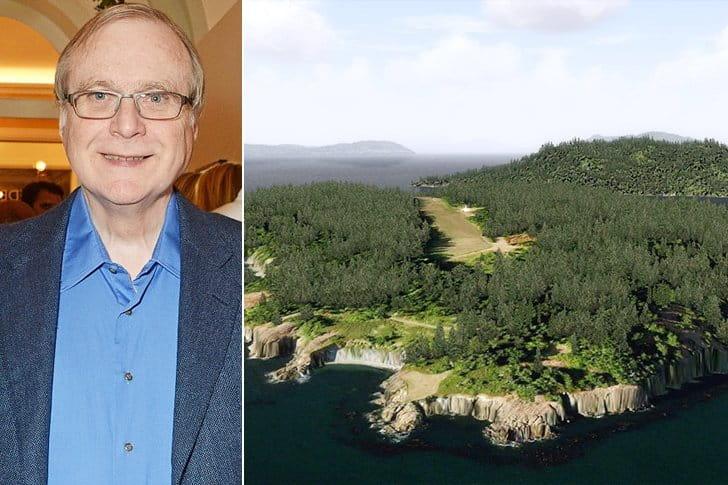 Paul Allen – Allan Island, $13.5 Million