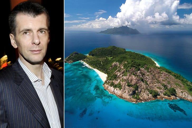 Mikhail Prokhorov – North Island, $35 Million