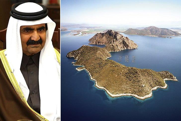 Hamad Bin Khalifa Al Thani – Greek Islands, $11 Million
