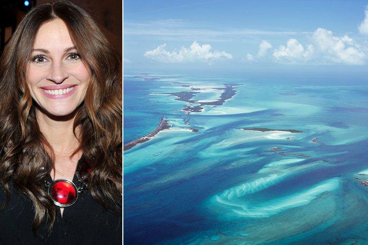 Julia Roberts – Bahamas, Amount Undisclosed