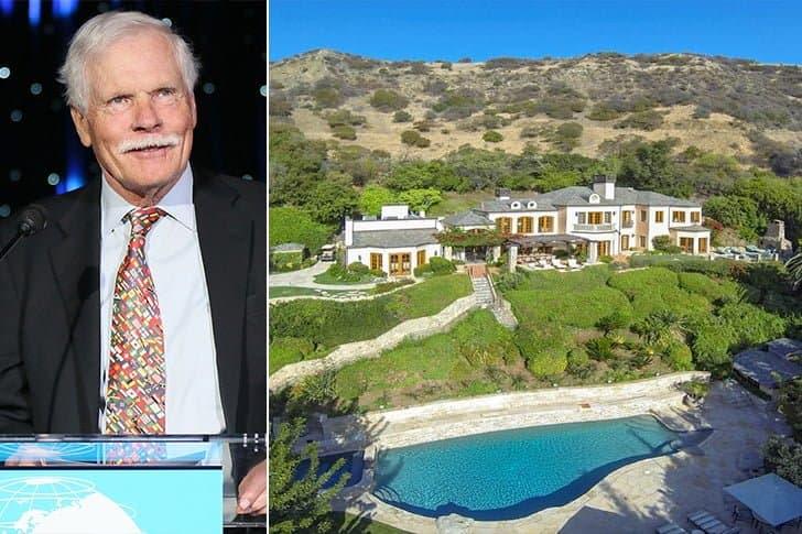 Ted Turner – St. Phillips Island, $4.9 Million