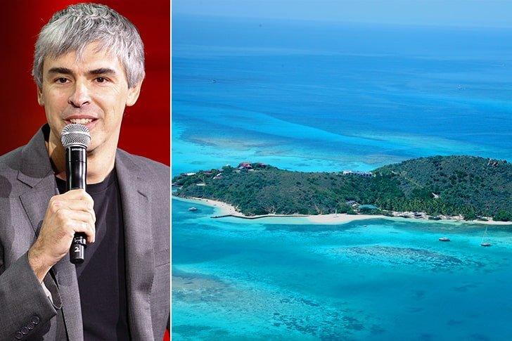 Larry Page – Eustasia Island, Amount Undisclosed