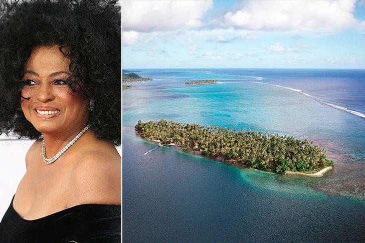 Diana Ross – Tahitian Island, Amount Undisclosed