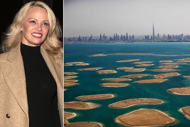 Pamela Anderson – Dubai, Amount Undisclosed