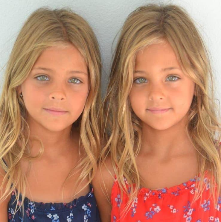 첫 모델일을 시작한 소녀들