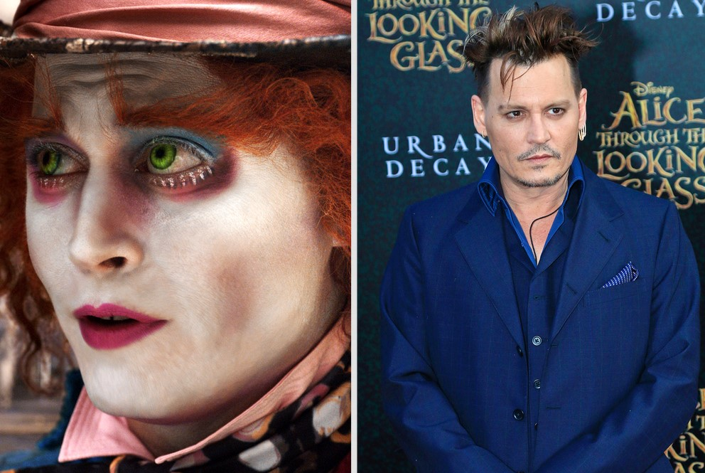 The Mad Hatter — Johnny Depp