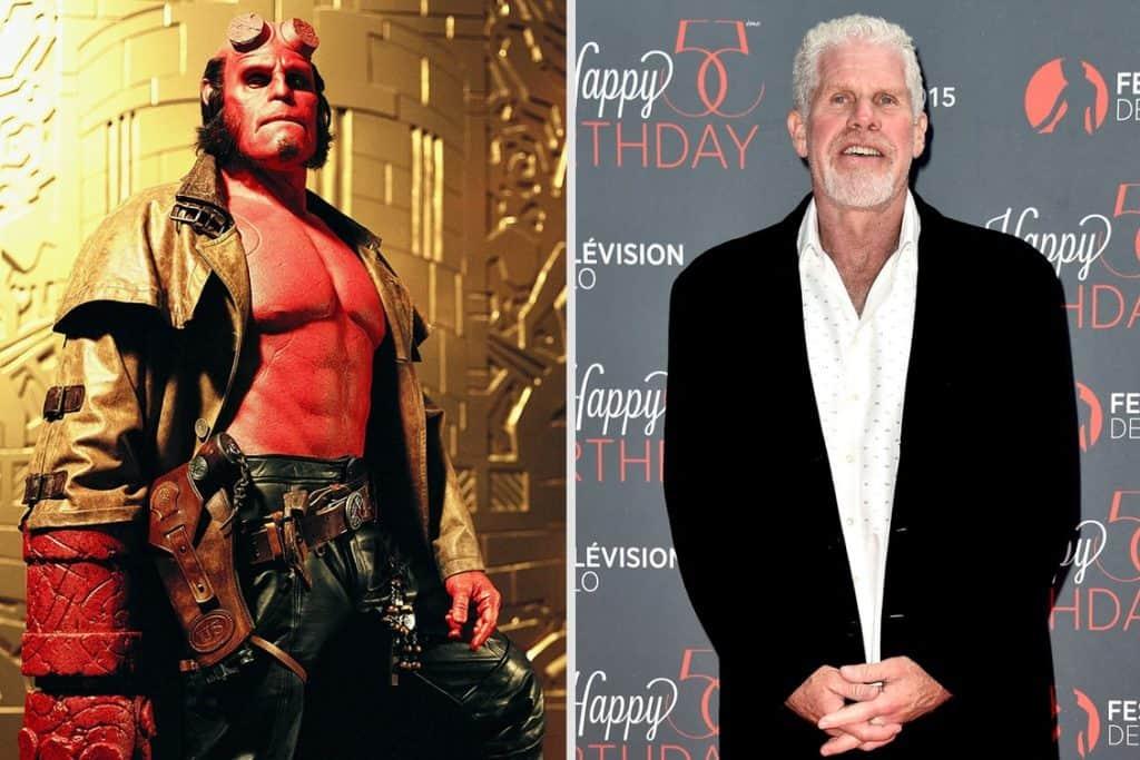 Hellboy — Ron Perlman