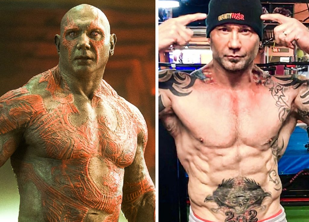 Drax The Destroyer — Dave Bautista