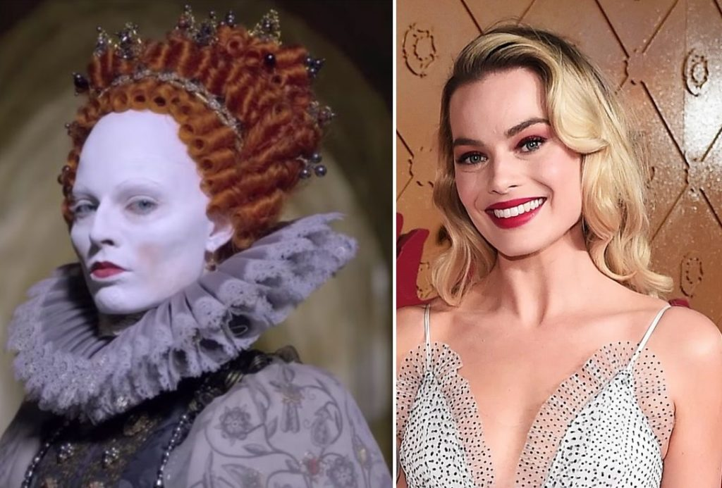 Queen Elizabeth I — Margot Robbie