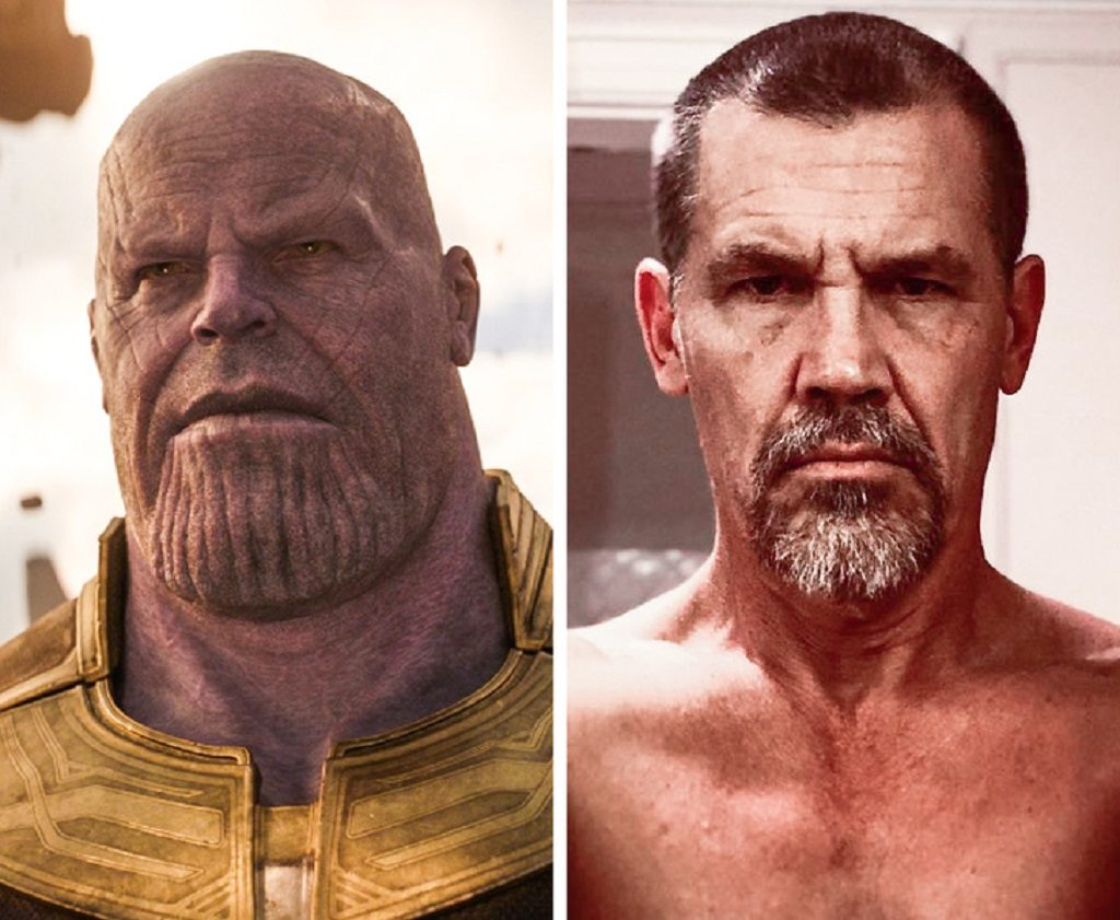 Thanos — Josh Brolin
