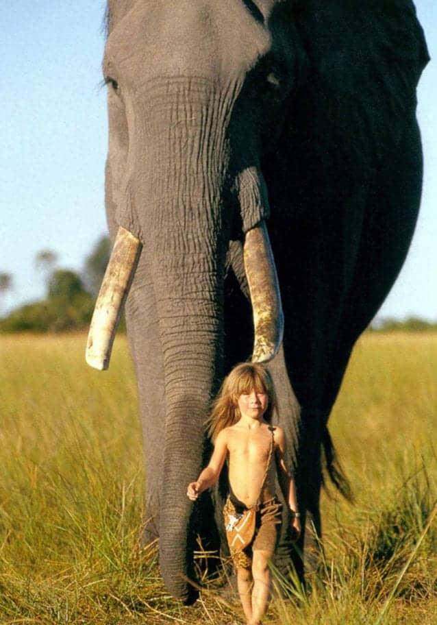 Tippi Degré'nin İnanılmaz Hikayesi: Vahşi Hayvanlar Arasında Büyüyen Kız