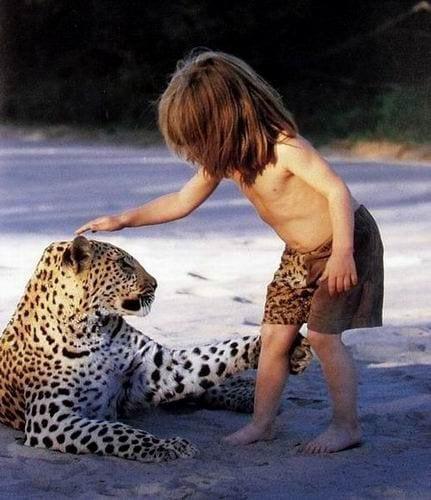 Bir Leopar En İyi Arkadaşı