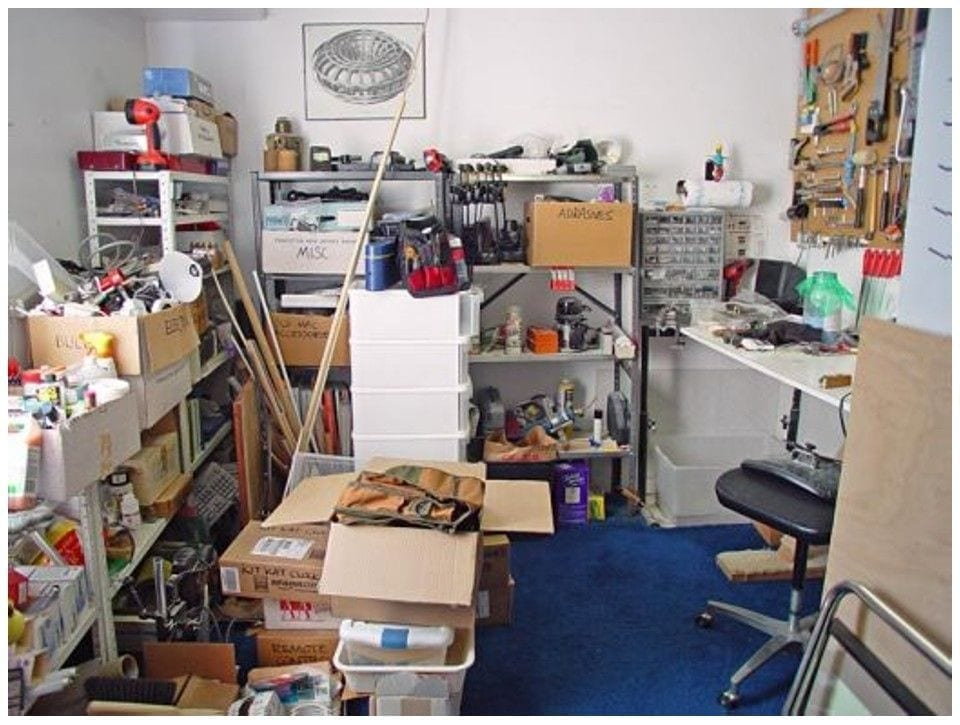 There Was So Much Clutter There