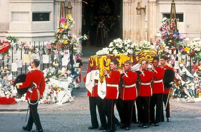 Die Trauerzeremonie