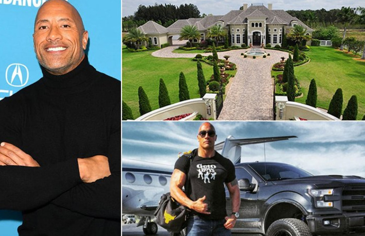 Dwayne 'The Rock' Johnson – 280 Millionen Dollar