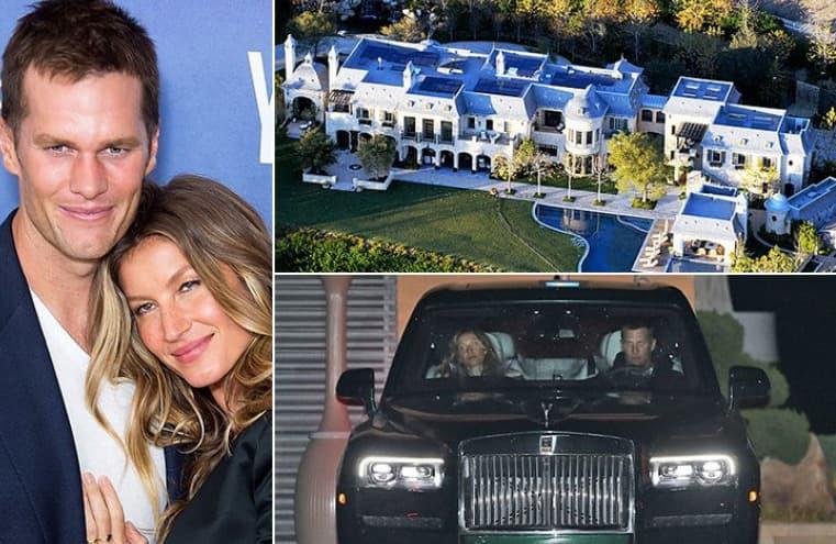 Tom Brady & Gisele Bündchen – 580 Millionen Dollar